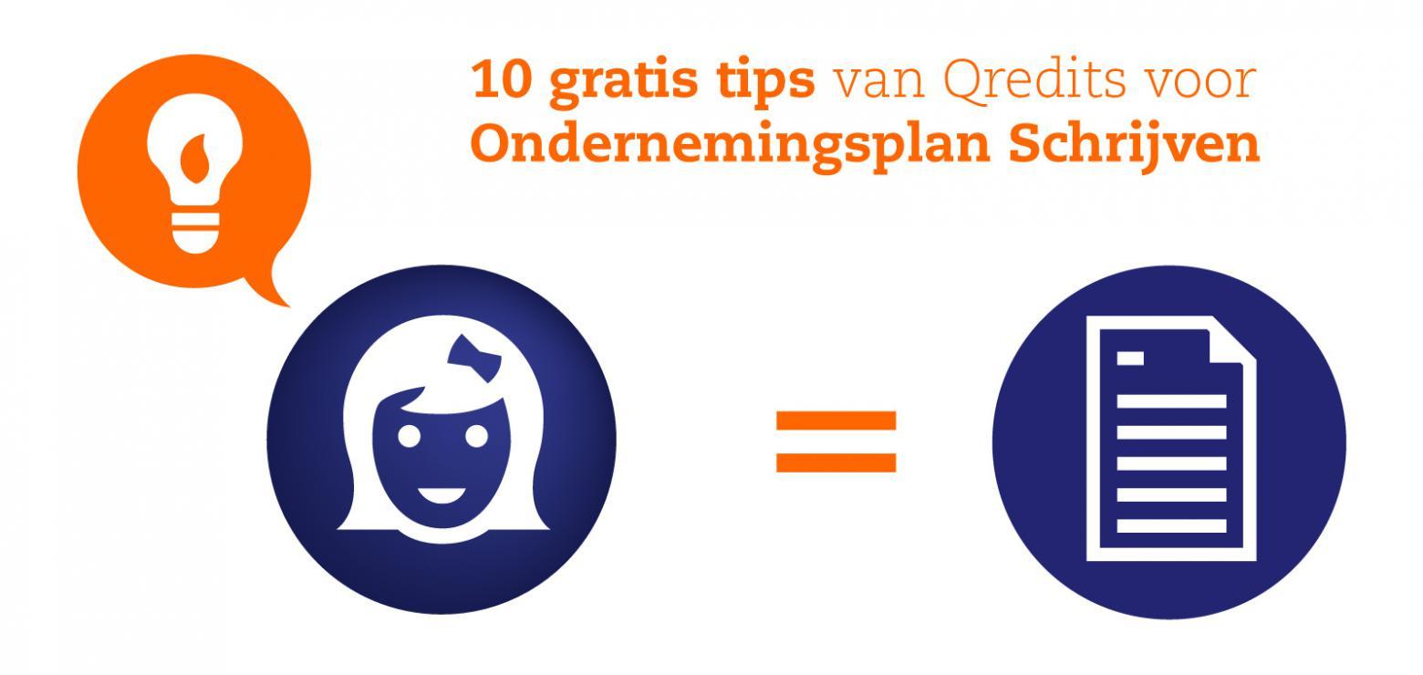 10 tips voor je ondernemingsplan | Qredits