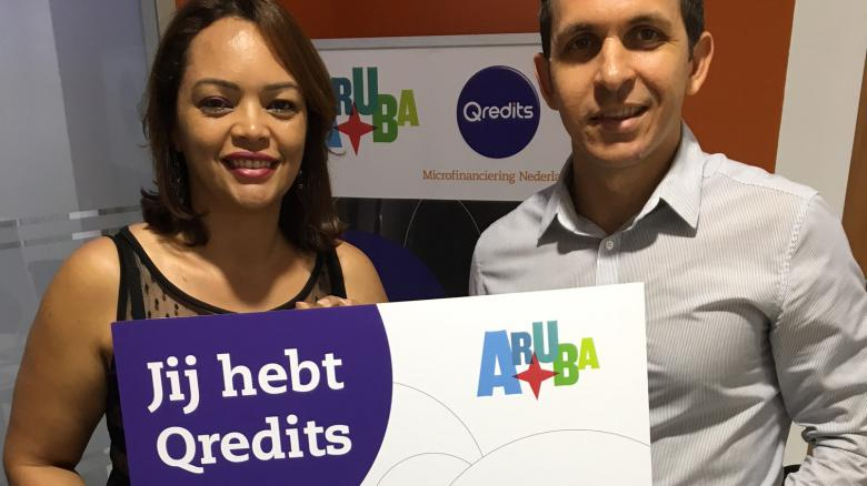 Qredits issues 1st Microcredit in Aruba