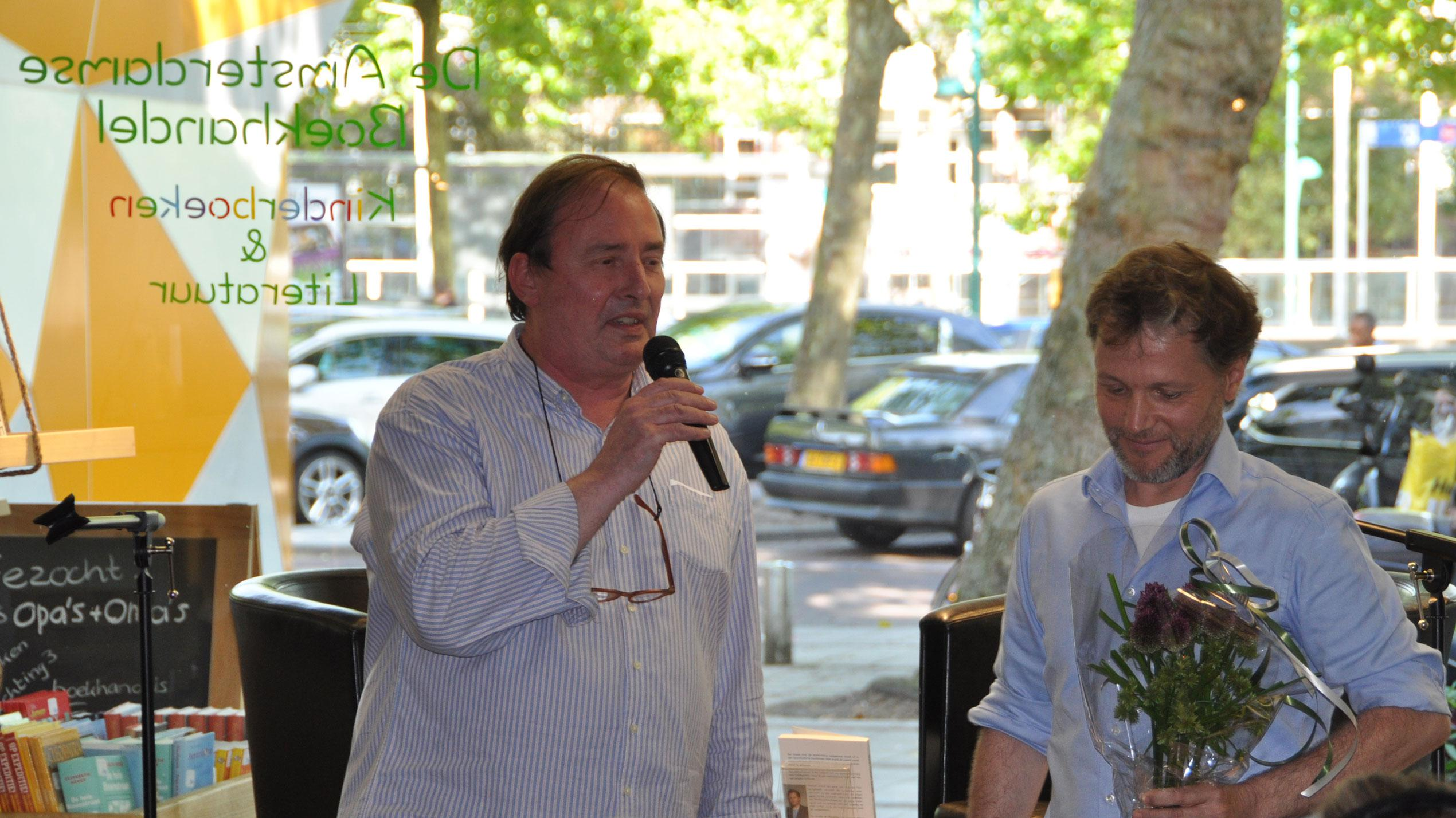 Win-win situatie: Coach Sven en ondernemer Denis helpen elkaar