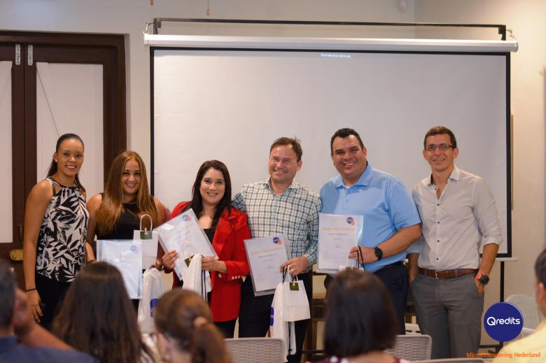 Qredits Aruba held its first Business Seminar
