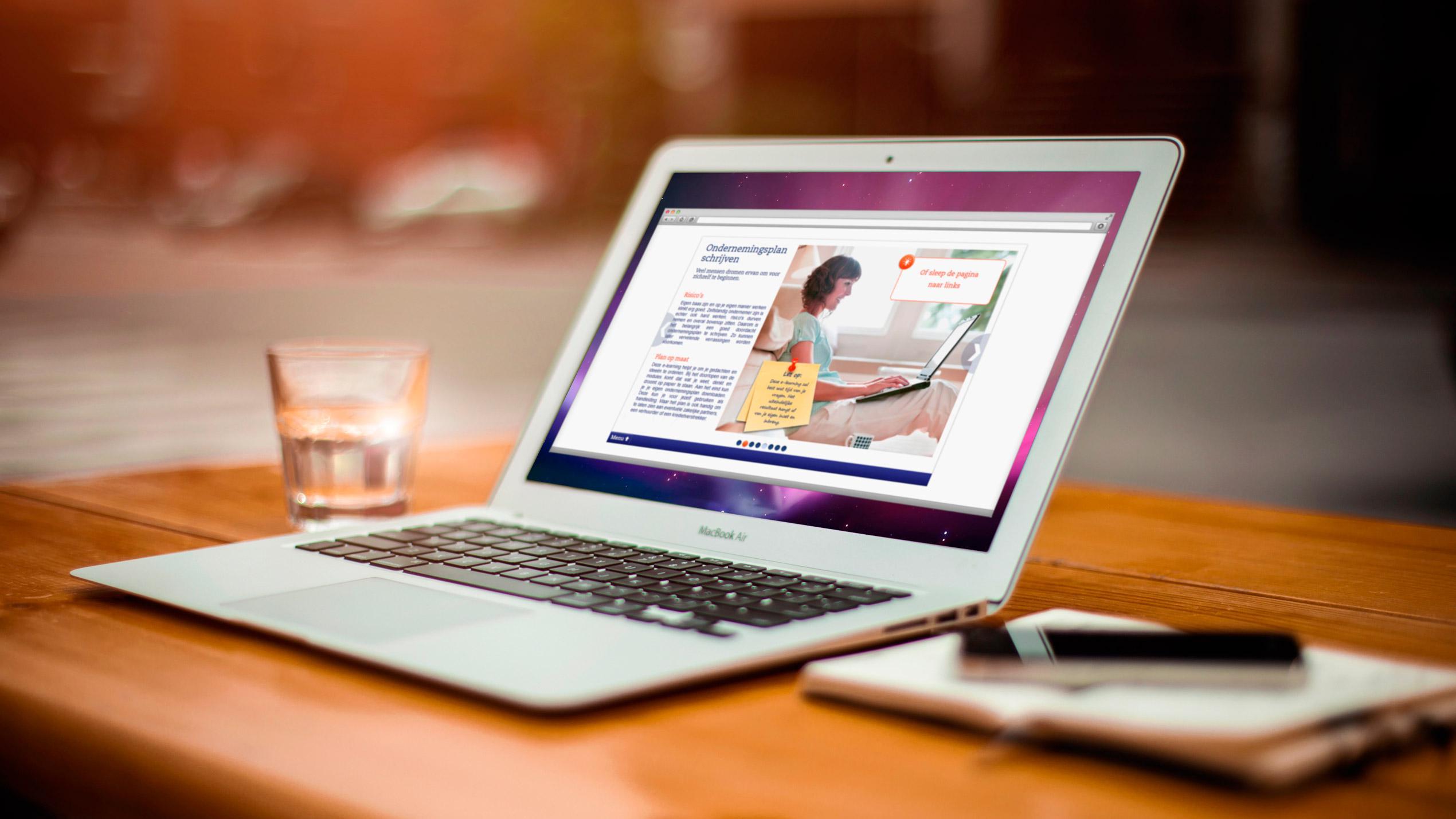 E-learning Ondernemingsplan Schrijven