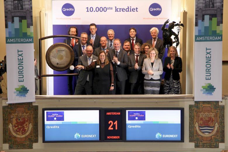 Qredits bereikt een grote mijlpaal: het 10.000ste krediet!