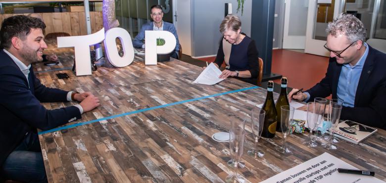 Qredits, Novel-T en Universiteit Twente werken samen in vernieuwde TOP-regeling