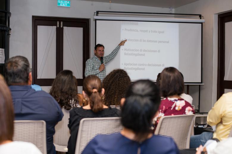 Qredits Aruba held its first Qredits Business Seminar