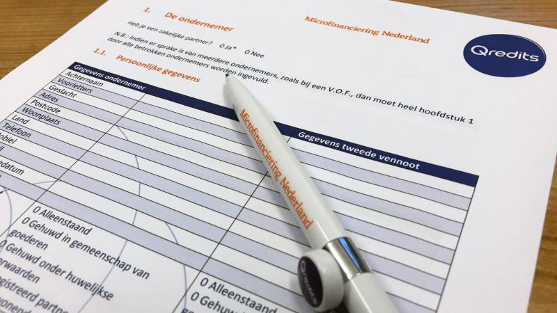 Ondernemingsplan schrijven | Qredits | Qredits