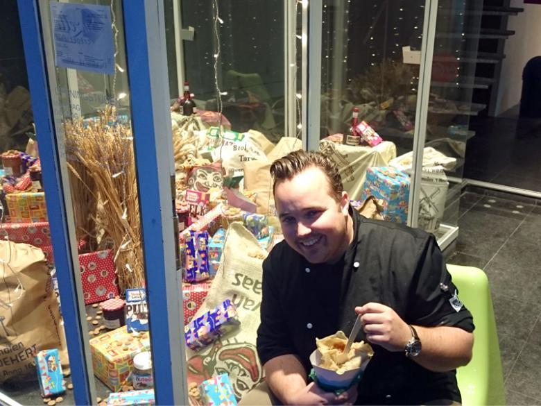Sinterklaas zorgt voor extra omzet bij ondernemer Michael!