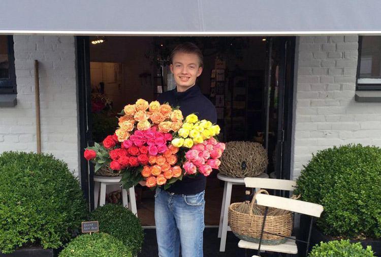 Nick van Hemert over zijn interieur annex bloemenzaak