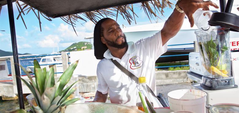 Qredits op de Caribische eilanden